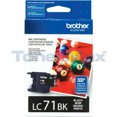 BROTHER MFC-J280W INK CARTRIDGE BLACK